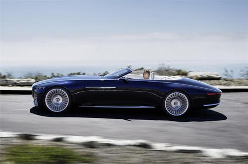 Mercedes-Maybach 6 Cabriolet quick charge