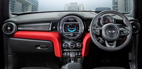 Mini Cooper S Carbon Edition Interior