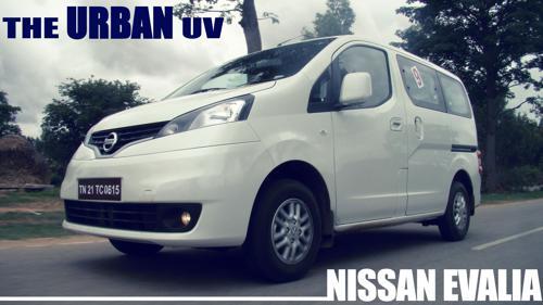 Nissan Evalia Review : The Urban UV - CarTrade