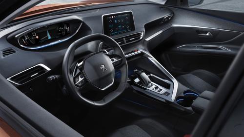 Peugeot 3008 side