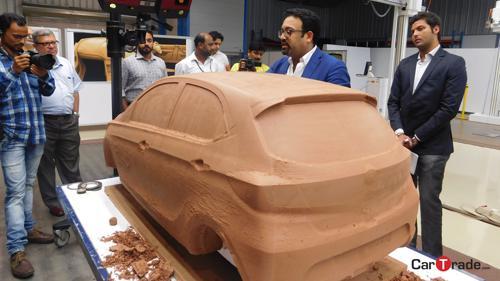 Tata Tiago clay model