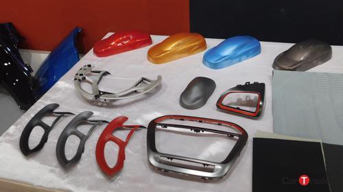 Tata Tiago colour samples