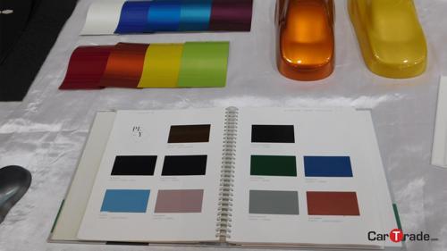 Tata Tiago colour swatches