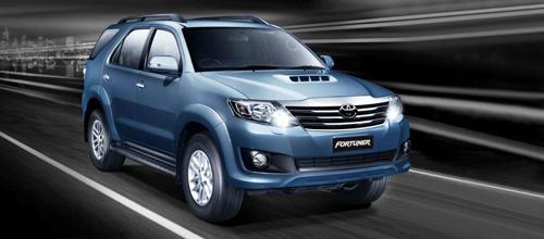 8) Toyota Fortuner