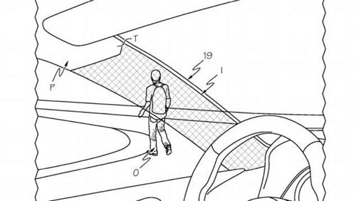 Toyota patents cloaking device for cars