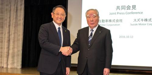 Toyota and Suzuki announce surprise partnership