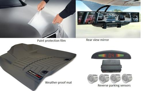 Car accessories for new drivers