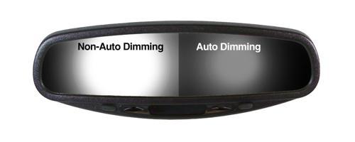 Dimming car mirror
