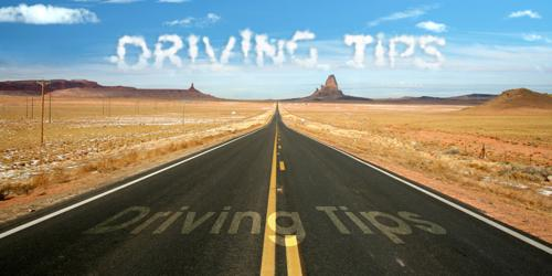 Driving tips for learners