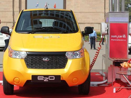 Mahindra e20 - electric Car