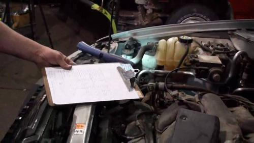 How to check an engine before buying a used car