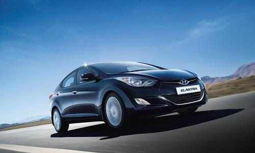 10) Hyundai Elantra