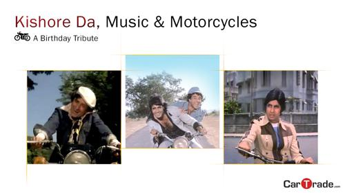 Kishore da, music and motorcycles - a birthday tribute