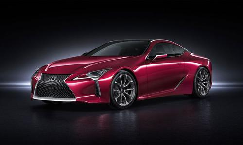 Lexus lc 500 luxury coupe that can handle stop-and-go traffic
