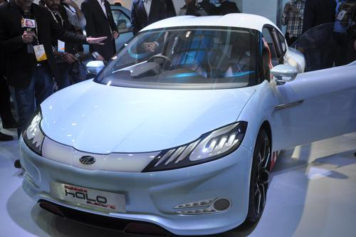 Mahindra Halo - An electric car concept