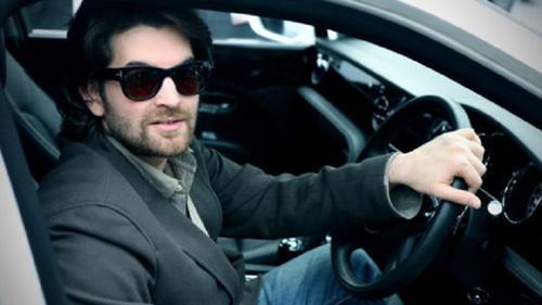 Neil nitin mukesh in his car