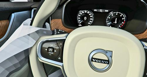 Piloted driving in volvo s90