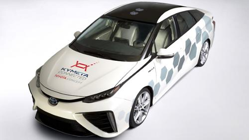 Satellite car from toyota