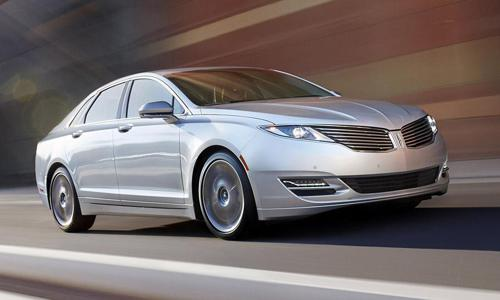 The lincoln mkz hybrid