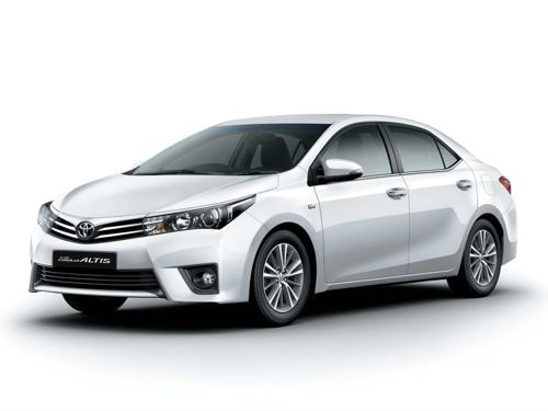 8) Toyota Corolla Altis