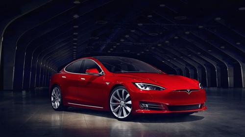 Tesla Model S uprgaded