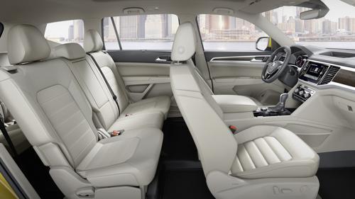 Volkswagen Atlas cabin