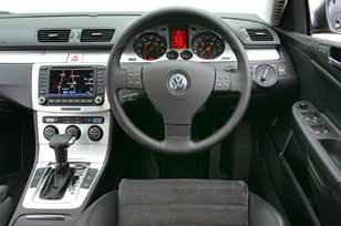 Volkswagen Passat - In the cabin