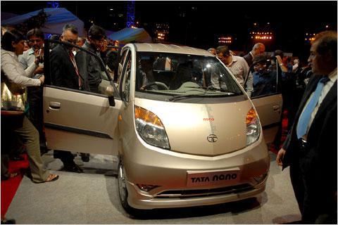 Tata Nano Launch in Mumbai