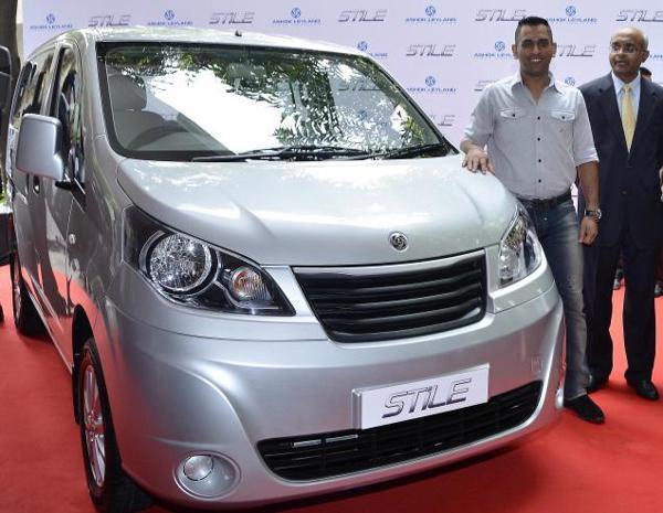 Ashok Leyland Stile unveiled by MS Dhoni