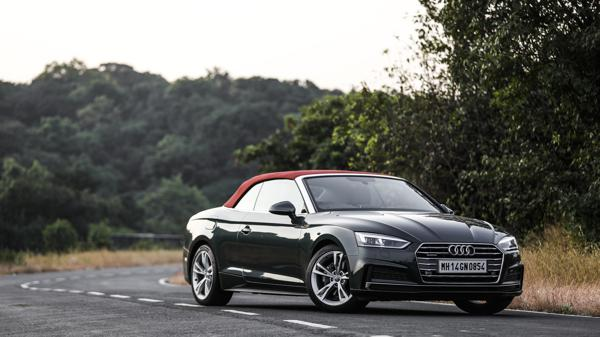 Audi A5 Cabriolet First Drive Review - CarTrade