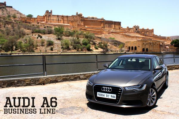 Audi A6 Review: Business Line - CarTrade