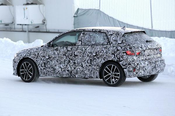 New Audi A1 hatchback spied