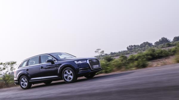 Audi Q7 40TFSI Petrol First Drive Review
