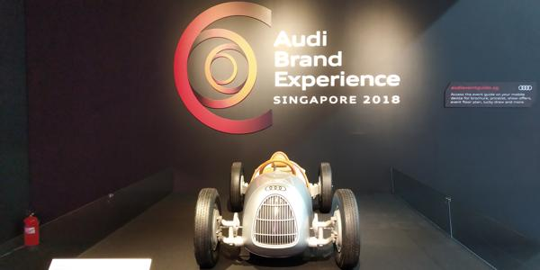Audis Spectacular Display Of The Future In Singapore - CarTrade