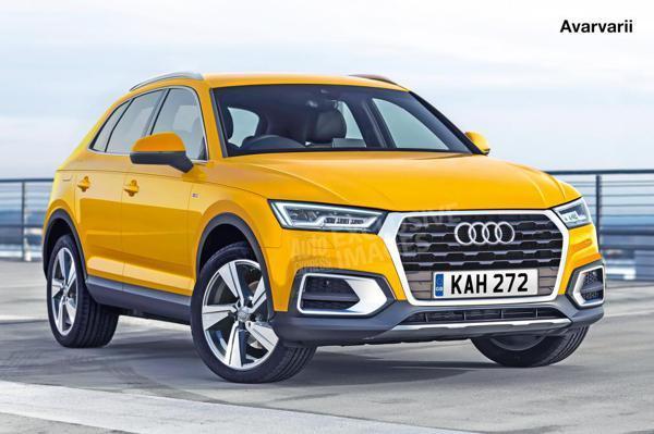 Next-gen Audi Q3 digitally rendered