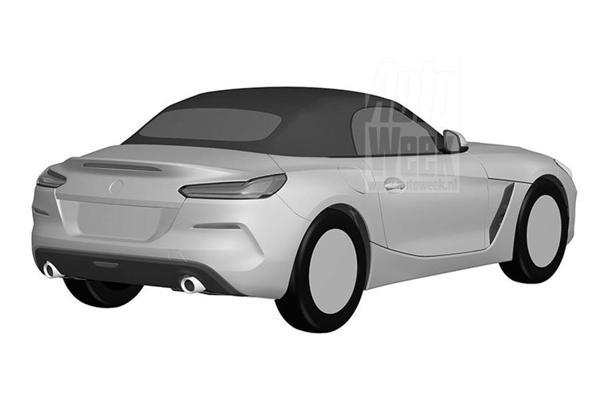 BMW-Z4-Patent