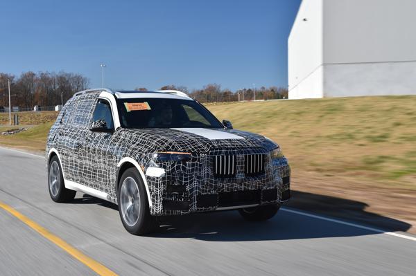 BMW X7 enters production
