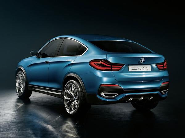 BMW reveals first impressions of the X4 Concept.