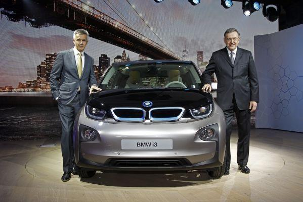 BMW i3 electric car revealed; plans to launch it in India soon.