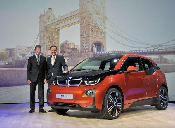 BMW i3 electric car revealed;plans to launch it in India soon.