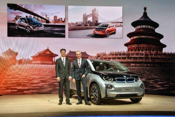 BMW i3 electric car revealed;plans to launch it in India soon .