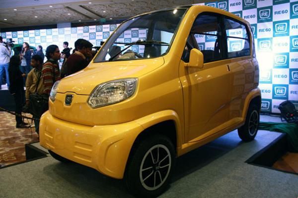 Tata Motors chides Bajaj Auto's plans of RE60 quadricycle in India