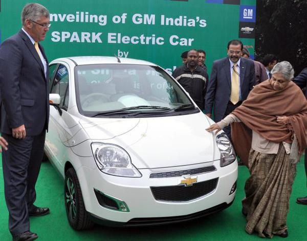 Chevrolet Spark - electric vehicle