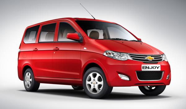 Chevrolet Enjoy to be launched during May 2013 in India