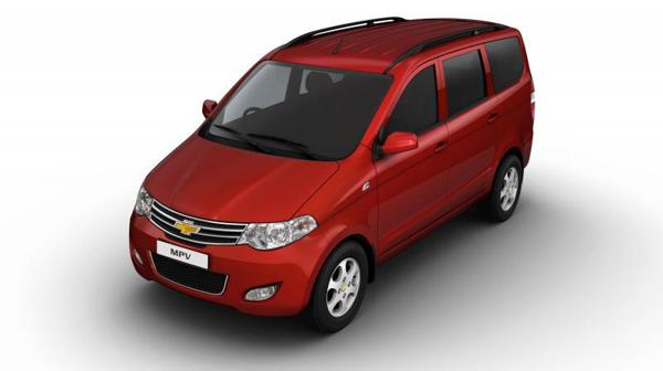 GM looks all prepared to pull off the curtains from Chevrolet Enjoy in India
