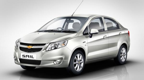 10) Chevrolet Sail