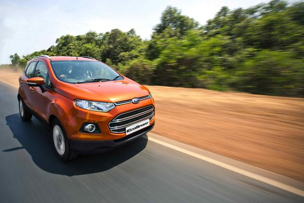 Ford EcoSport's export to South Africa begins from Chennai Port