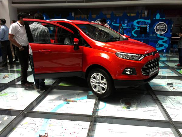 Ford EcoSport soft launch in Delhi and Mumbai
