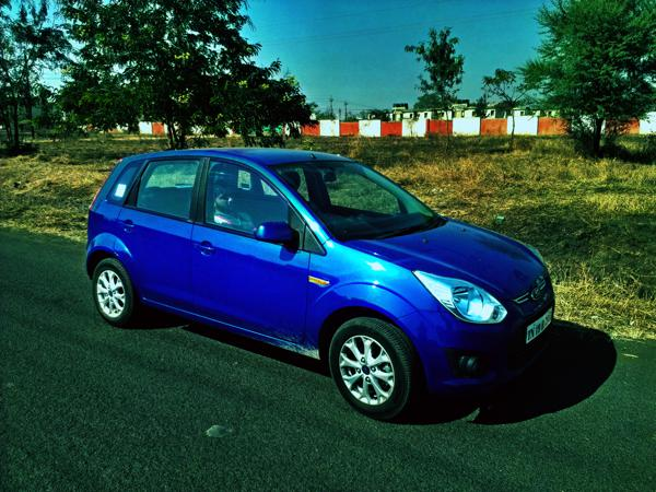Ford Figo Side profile