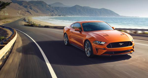 Ford unveils European spec Mustang